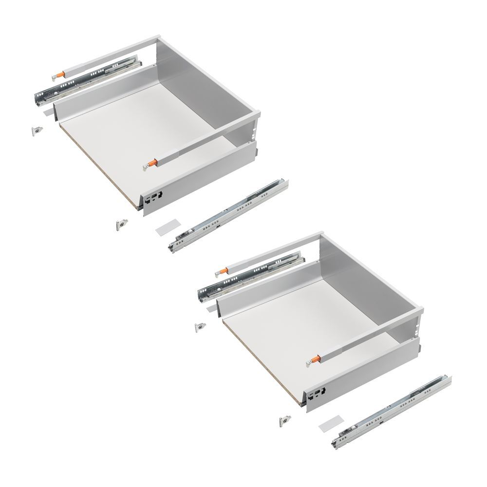 TANDEMBOX antaro, Pre-Assembled, Pair, D Height, 203 x 500 x 450