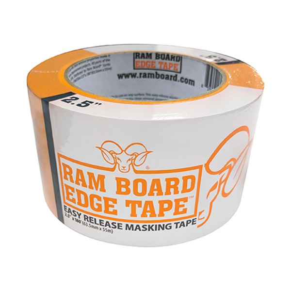 "2.5"" x 180ft Ram Board Edge Tape (1 Roll)"