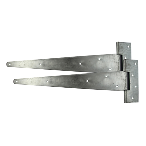 "24"" Scotch Tee Hinge Pair HDG (1 Plain Bag)"