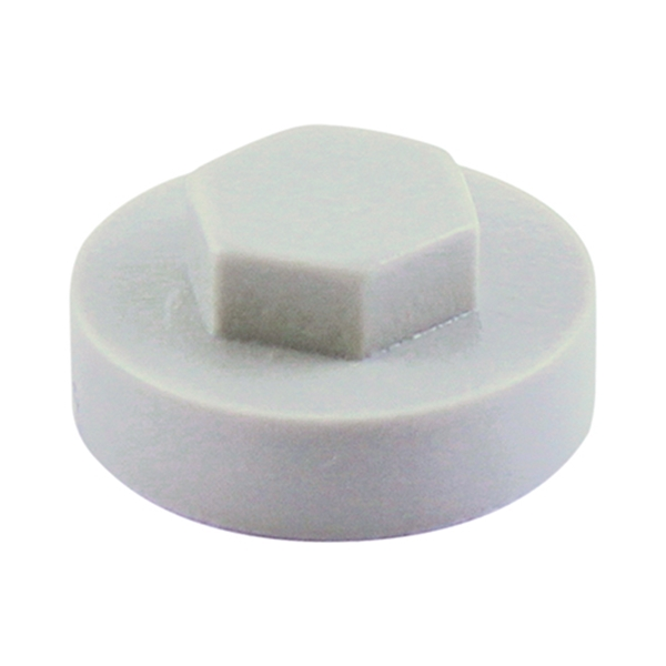 16mm Hex Cover Cap - Albatross (1000 Bag)